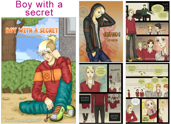 Read Boy with a secret on Amilova