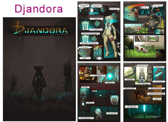 Lire et découvrir Djandora sur Amilova