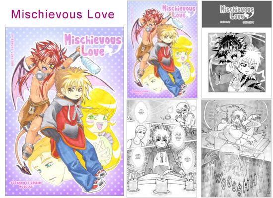 Lire et découvrir Mischievous Love sur Amilova