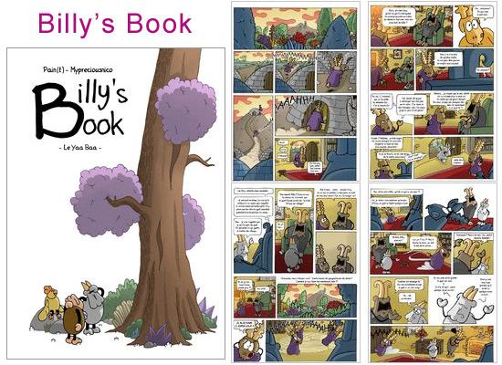Lire et découvrir Billy's Book sur Amilova