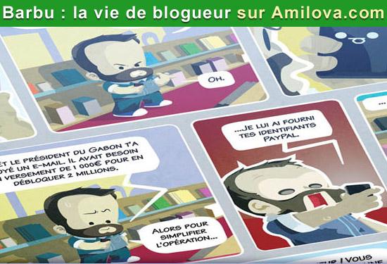 Lire et découvrir Barbu : La vie de blogueur sur Amilova