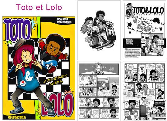 Lire et découvrir Toto et Lolo sur Amilova
