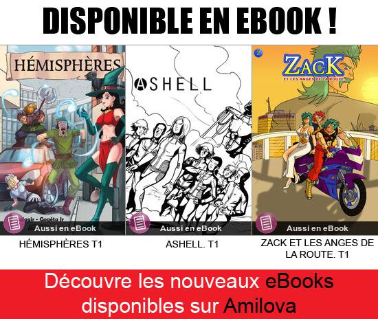 Nouveauté eBooks
