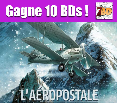 Infos sur le concours aéropostale sur amilova