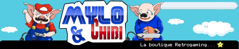 Boutique retrogaming, mylo and chibi